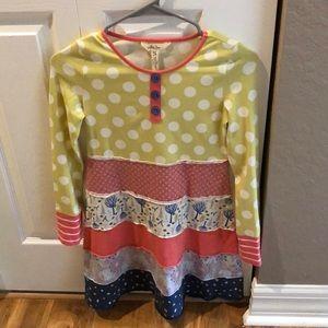 Matilda Jane Winter Print Dress Size 10